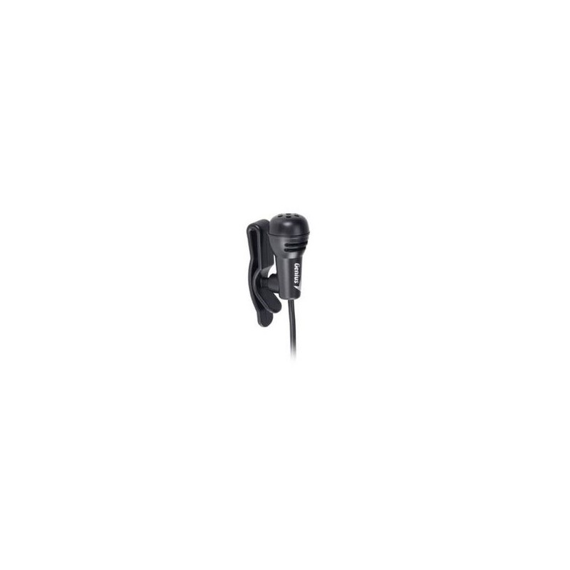 Петличный микрофон genius mic 01c 100см 100гц
