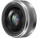 Объектив Panasonic LUMIX G 20mm f/1.7 II MFT (серебристый)