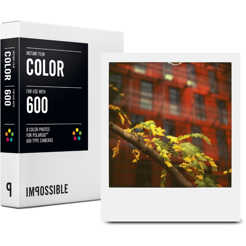 impossible project 600 film The impossible project impossible project film for 600-type cameras (color film, color frame, 2-pack) sold by focus camera add to compare compare now $6999 $4995.