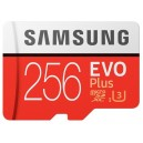Карта памяти Samsung microSDXC 256GB EVO Plus 100MB/s + SD adapter